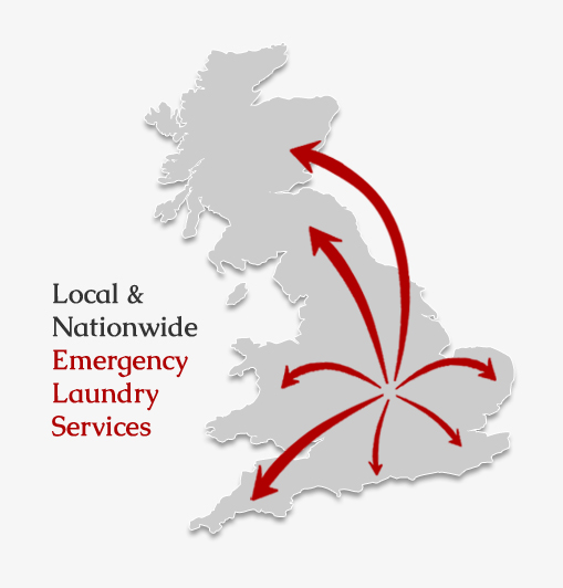 Local & nationwide emergency laundry services
