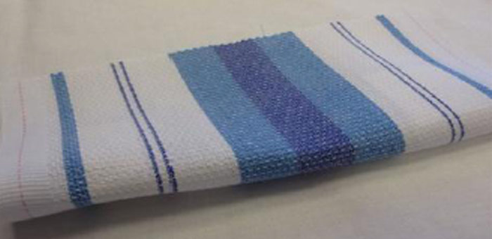 An image of a roller towel supplied by Queens Drive Laundry