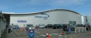 An image of Luton airport