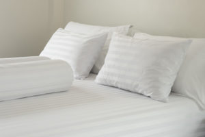 An image showing Luxury hotel linen available from Queens Drive Laundry