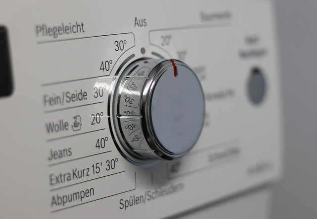 washing machine temperature options